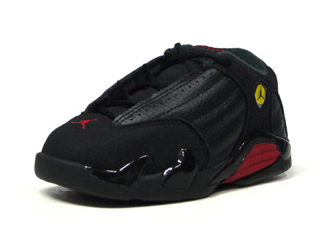"JORDAN BRAND JORDAN 14 RETRO BT ""LAST SHOT"" ""MICHAEL JORDAN"" ""LIMITED EDITION for JORDAN BRAND""  BLK/RED/YEL (312093-003)"