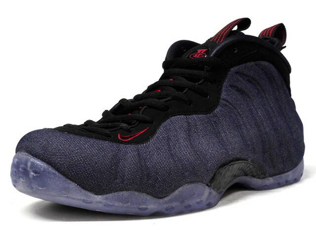"NIKE AIR FOAMPOSITE ONE ""DENIM"" ""LIMITED EDITION for NSW""  NVY/BLK/RED (314996-404)"