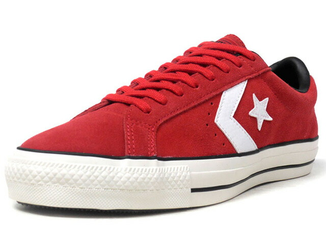 "CONVERSE SKATEBOARDING PRORIDE SK OX + ""+ SERIES""  RED/WHT/BLK/O.WHT (32752972)"
