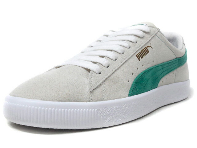 "Puma SUEDE 90681 ""SUEDE 50th ANNIVERSARY"" ""KA LIMITED EDITION""  O.WHT/GRN/WHT (365942-06)"