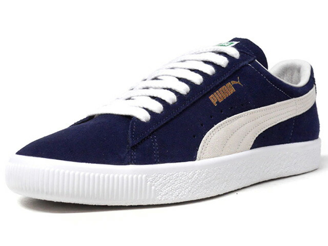 """Puma SUEDE 90681 """"SUEDE 50th ANNIVERSARY"""" """"KA LIMITED EDITION""""  NVY/O.WHT/WHT (365942-10)"""