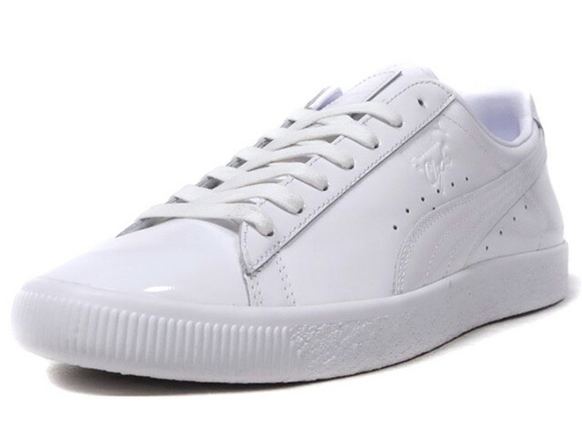 "Puma CLYDE DRESSED PART THREE ""LIMITED EDITION for LIFESTYLE""  WHT/WHT (366233-02)"
