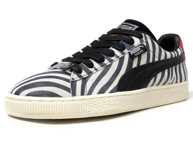 """Puma SUEDE CLASSIC X PAUL STANLEY """"PAUL STANLEY"""" """"SUEDE 50th ANNIVERSARY"""" """"KA LIMITED EDITION""""  BLK/L.GRY/RED (366288-01)"""