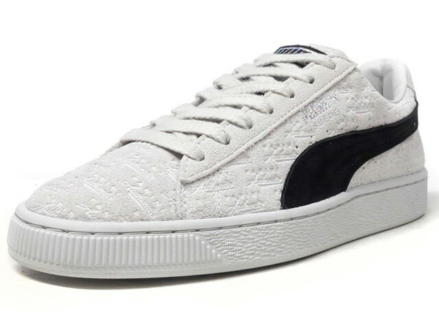 "Puma SUEDE CLASSIC X PANINI ""PANINI"" ""SUEDE 50th ANNIVERSARY"" ""KA LIMITED EDITION""  L.GRY/BLK (366323-01)"