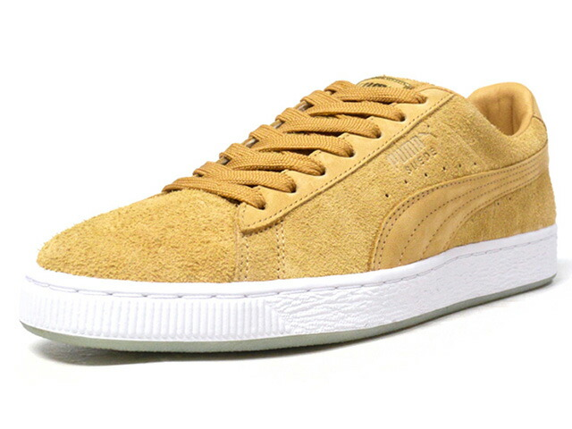 "Puma SUEDE CLASSIC X CHAPTER II ""CHAPTER II"" ""SUEDE 50th ANNIVERSARY"" ""KA LIMITED EDITION""  WHEAT/WHT (366326-01)"