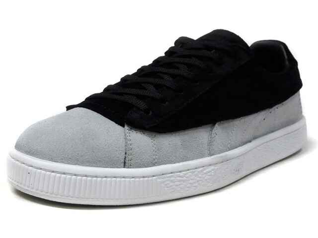 "Puma SUEDE CLASSIC X STAMPD ""made in ITALY"" ""STAMPD"" ""SUEDE 50th ANNIVERSARY"" ""KA LIMITED EDITION""  BLK/GRY/WHT (366327-01)"