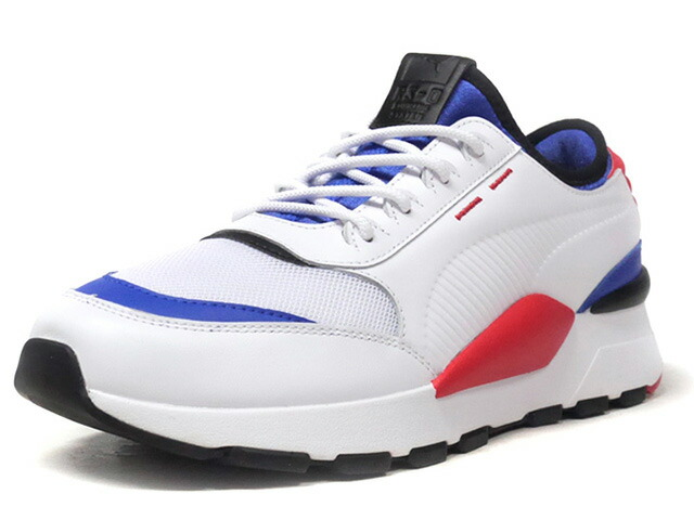 """Puma RS-0 SOUND """"LIMITED EDITION for PRIME""""  WHT/RED/BLU/BLK (366890-01)"""