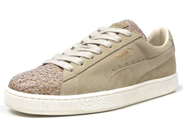 "Puma SUEDE MADE IN ITALY (WMNS) ""made in ITALY"" ""SUEDE 50th ANNIVERSARY"" ""KA LIMITED EDITION""  BGE/GLD/NAT (367176-01)"