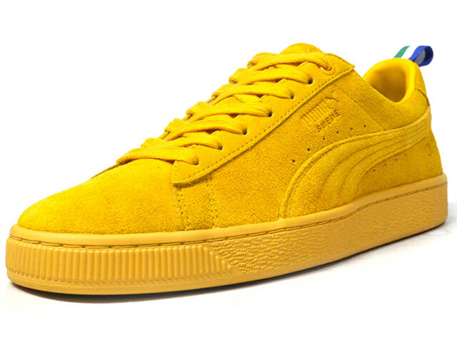 "Puma SUEDE X BIG SEAN ""BIG SEAN"" ""LIMITED EDITION for LIFESTYLE""  YEL/GRN/WHT/BLU (367413-01)"
