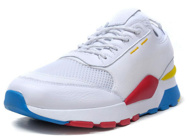 "Puma RS-0 PLAY ""LIMITED EDITION for LIFESTYLE""  WHT/RED/YEL/BLU (367515-01)"