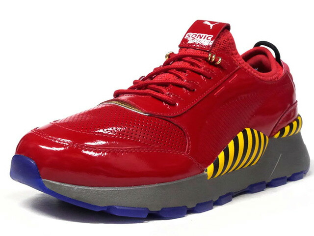 "Puma RS-0 X ROBOTNIK ""SONIC THE HEDGEHOG / DR.EGGMAN""  RED/YEL/BLK/C.GRY/BLU/GLD (368350-01)"