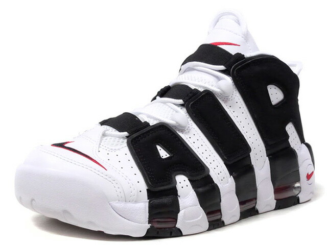 "NIKE AIR MORE UPTEMPO ""LIMITED EDITION for NSW""  WHT/BLK/RED (414962-105)"