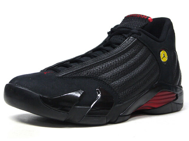 "JORDAN BRAND AIR JORDAN 14 RETRO ""LAST SHOT"" ""MICHAEL JORDAN"" ""LIMITED EDITION for JORDAN BRAND""  BLK/RED/YEL (487471-003)"