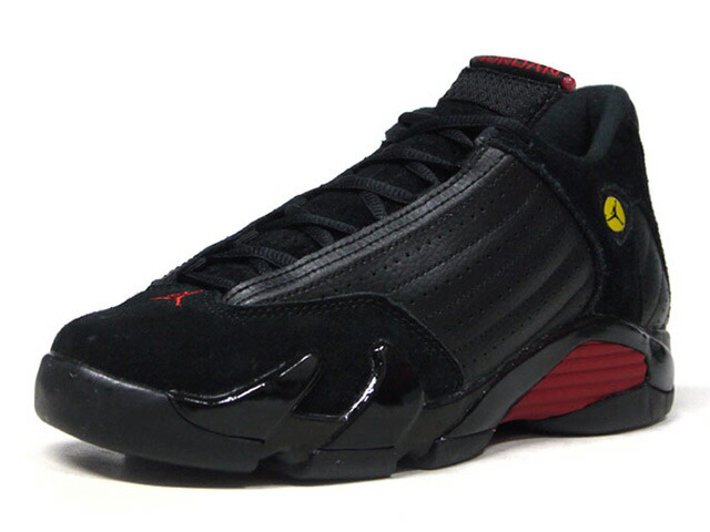"JORDAN BRAND AIR JORDAN 14 RETRO BG ""LAST SHOT"" ""MICHAEL JORDAN"" ""LIMITED EDITION for JORDAN BRAND""  BLK/RED/YEL (487524-003)"