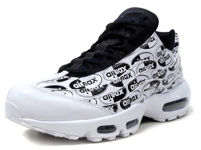 """NIKE AIR MAX 95 PRM """"LIMITED EDITION for NSW""""  WHT/BLK (538416-103)"""