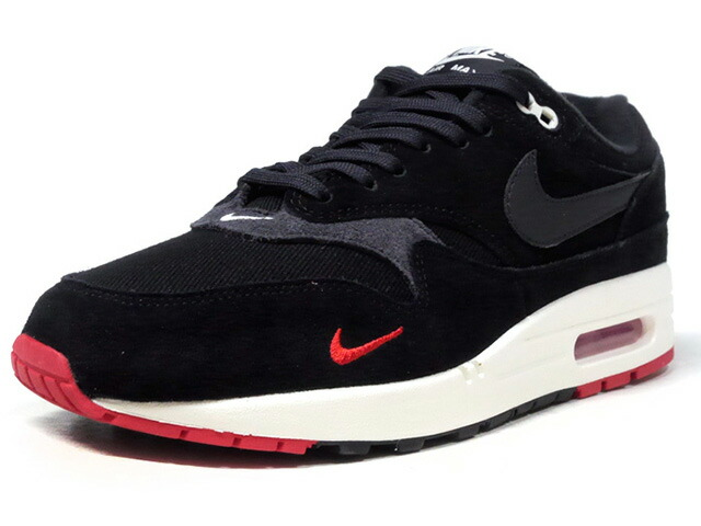 "NIKE AIR MAX 1 PREMIUM ""LIMITED EDITION for NSW""  BLK/C.GRY/RED/O.WHT (875844-007)"