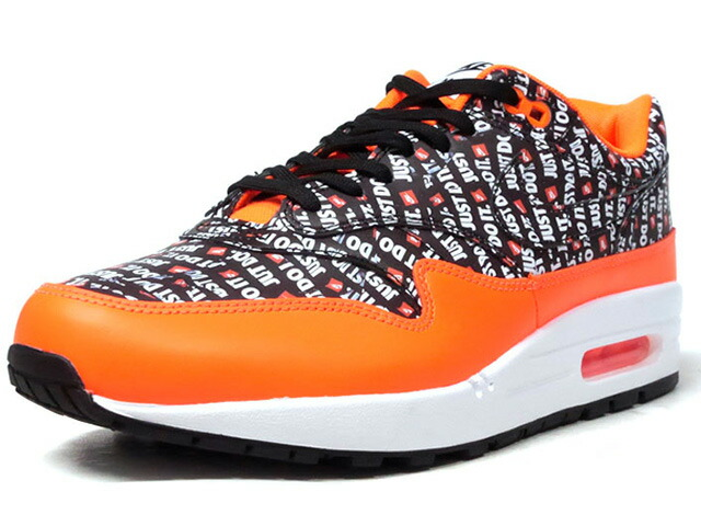 """NIKE AIR MAX 1 PREMIUM """"JUST DO IT PACK"""" """"LIMITED EDITION for NSW""""  ORG/BLK/WHT (875844-008)"""