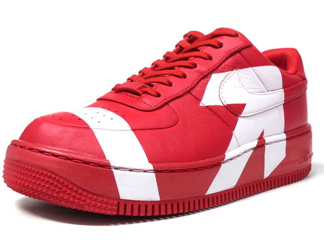 """NIKE (WMNS) AIR FORCE 1 LOW UPSTEP LUX """"UPSTEP"""" """"LIMITED EDITION for NSW""""  RED/WHT (898421-601)"""
