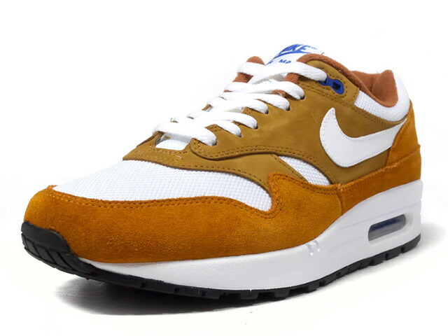 "NIKE AIR MAX 1 PREMIUM RETRO ""DARK CURRY"" ""LIMITED EDITION for NONFUTURE""  BRN/BGE/BLU/WHT (908366-700)"