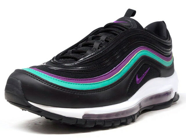 """NIKE (WMNS) AIR MAX 97 """"LIMITED EDITION for NSW""""  BLK/PPL/E.GRN/WHT (921733-008)"""