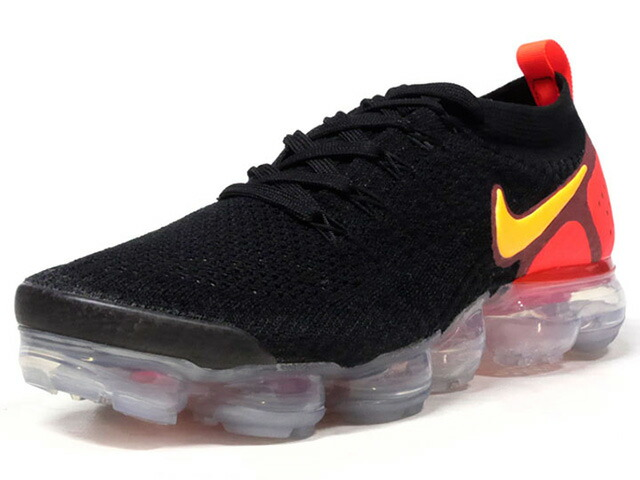 "NIKE AIR VAPORMAX FLYKNIT 2 ""LASER ORANGE"" ""LIMITED EDITION for RUNNING FLYKNIT""  BLK/ORG/YEL (942842-005)"