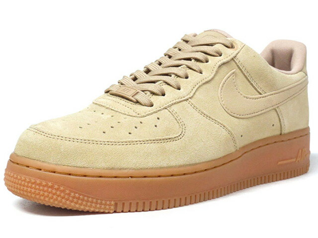"NIKE AIR FORCE 1 07 LV8 SUEDE ""LIMITED EDITION for NSW""  BGE/GUM (AA1117-200)"
