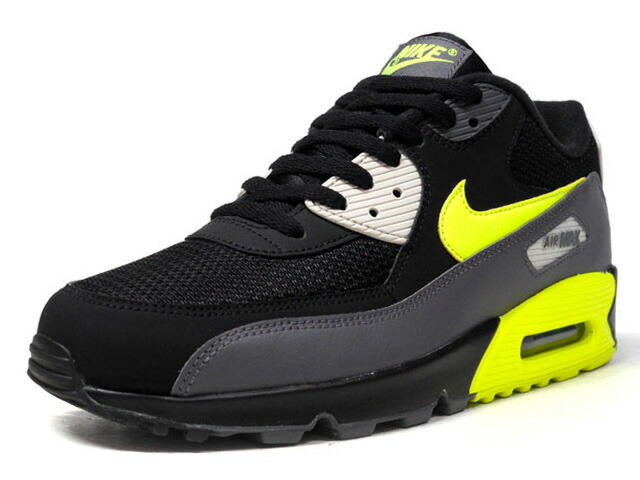 "NIKE AIR MAX 90 ESSENTIAL ""LIMITED EDITION for NSW""  BLK/C.GRY/N.YEL/L.GRY (AJ1285-015)"