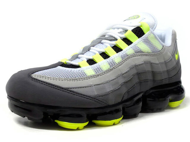 """NIKE AIR VAPORMAX '95 """"YELLOW GRADATION"""" """"LIMITED EDITION for NSW""""  GRY/BLK/N.YEL (AJ7292-001)"""