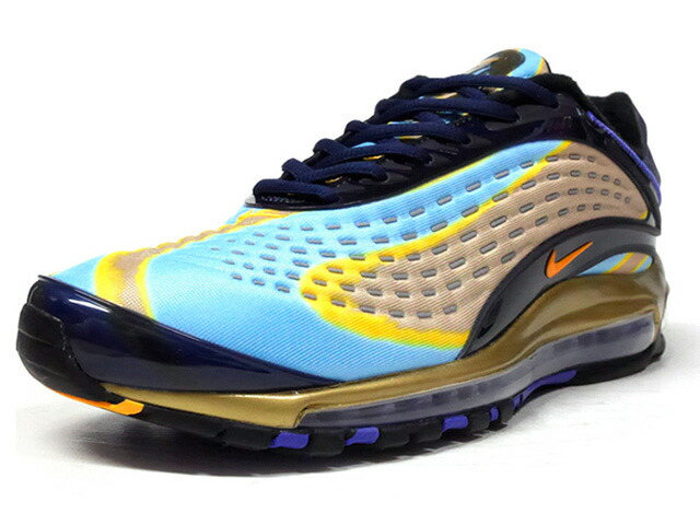 "NIKE AIR MAX DELUXE ""LIMITED EDITION for NSW""  SAX/NVY/GLD/YEL/PPL (AJ7831-400)"