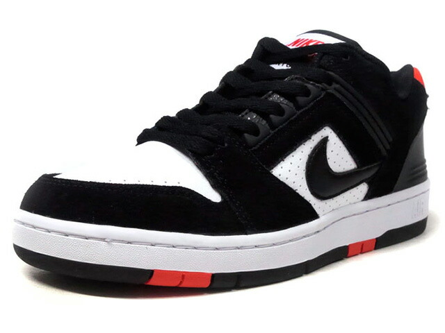 """NIKE SB AIR FORCE 2 LOW """"LIMITED EDITION for NIKE SB""""  BLK/WHT/RED (AO0300-006)"""