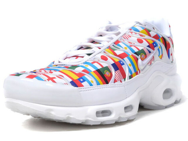 "NIKE AIR MAX PLUS NIC QS ""NIKE INTERNATIONAL COLLECTION"" ""LIMITED EDITION for NSW""  WHT/MULTI (AO5117-100)"