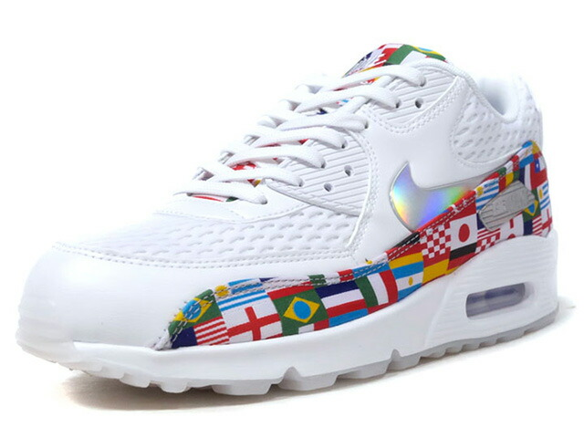 "NIKE AIR MAX 90 NIC QS ""NIKE INTERNATIONAL COLLECTION"" ""LIMITED EDITION for NSW""  WHT/MULTI (AO5119-100)"