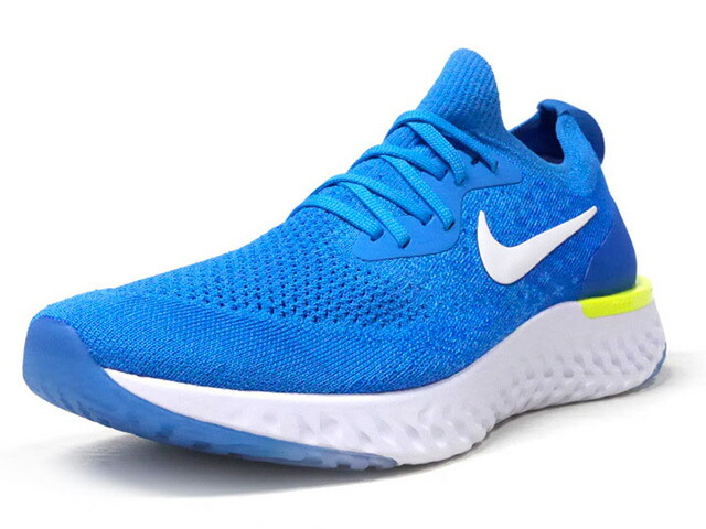 "NIKE EPIC REACT FLYKNIT ""LIMITED EDITION for RUNNING""  SAX/WHT/YEL (AQ0067-401)"