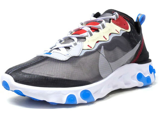 """NIKE REACT ELEMENT 87 """"LIMITED EDITION for NONFUTURE"""" CLEAR/BGE/RED/BLK/BLU/WHT (AQ1090-003)"""