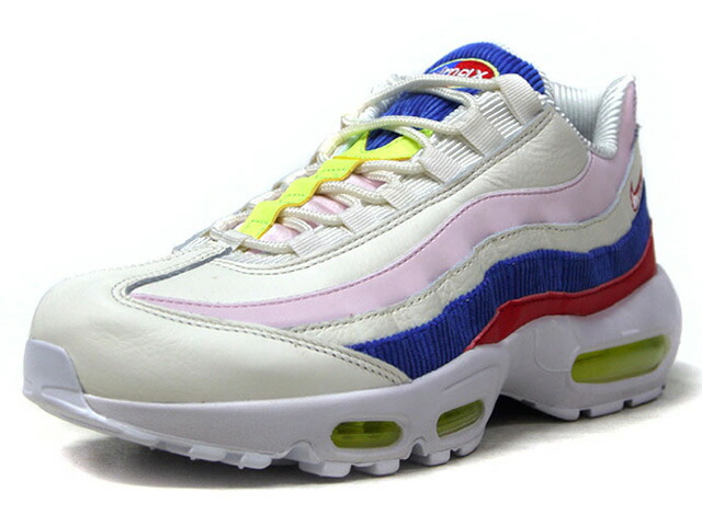 "NIKE (WMNS) AIR MAX 95 SE ""LIMITED EDITION for NONFUTURE""  O.WHT/PNK/BLU/RED/L.GRN (AQ4138-101)"