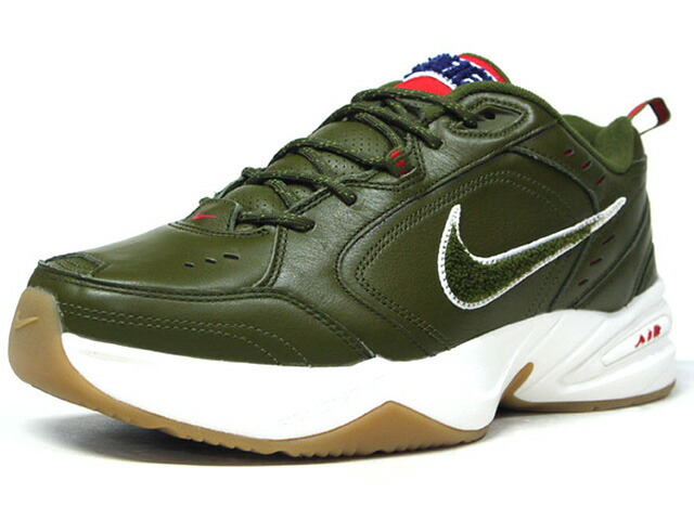 "NIKE AIR MONARCH IV PR ""CAMP VIBES / FATHER'S DAY"" ""LIMITED EDITION for NONFUTURE""  OLV/RED/BLU/WHT/GUM (AV6676-300)"