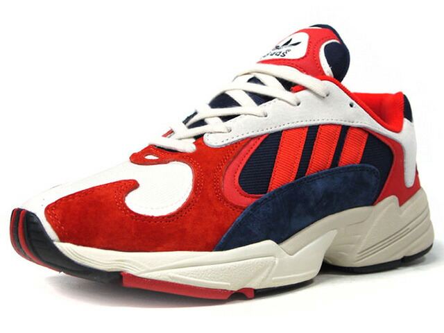 "adidas YUNG-1 ""LIMITED EDITION""  O.WHT/RED/NVY/BLK (B37615)"