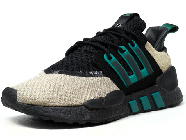 """adidas EQT 91/18 """"Packer Shoes"""" """"LIMITED EDITION for CONSORTIUM""""  BGE/GRN/BLK (BB9482)"""
