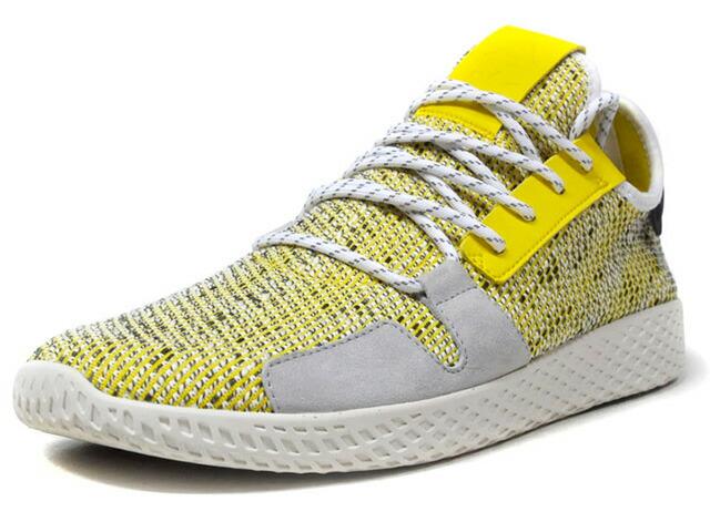 "adidas SOLAR HU TENNIS V2 ""PHARRELL WILLIAMS"" ""SOLAR HU COLLECTION""  YEL/GRY/NAT/BLK (BB9543)"