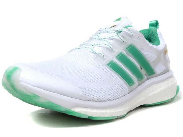 """adidas ENERGY BOOST CONCEPTS """"CONCEPTS"""" """"LIMITED EDITION for CONSORTIUM""""  WHT/GRN/GLD (BC0236)"""