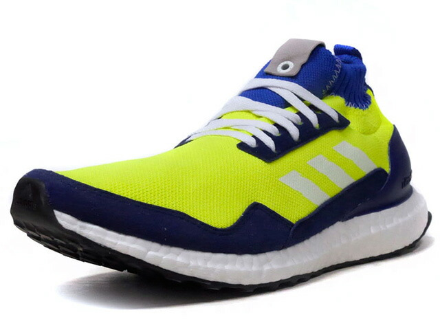 "adidas ULTRA BOOST MID ""PROTOTYPE"" ""LIMITED EDITION for CONSORTIUM""  YEL/BLU/GRY/NVY/WHT (BD7399)"
