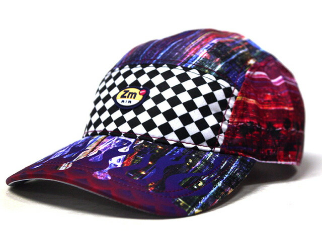 "NIKE U NRG AW84 CAP ZM SPECTRUM QS ""LIMITED EDITION for NONFUTURE""  RED/ORG/BLU/CHECK (BV3959-455)"