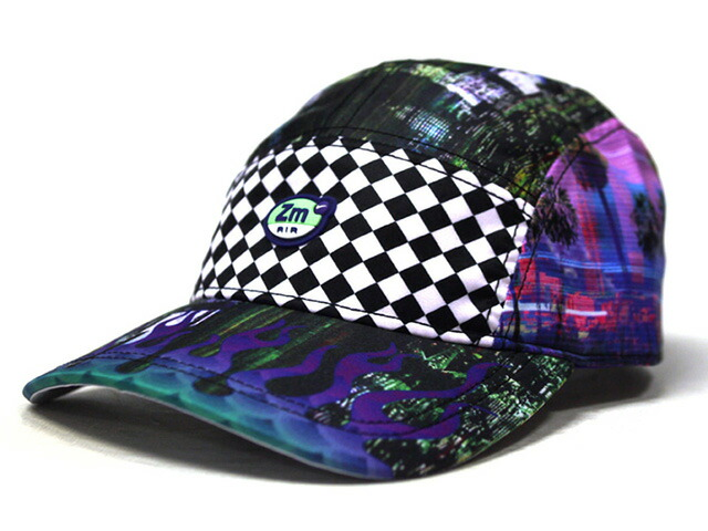 "NIKE U NRG AW84 CAP ZM SPECTRUM QS ""LIMITED EDITION for NONFUTURE""  PPL/PNK/OLV/CHECK (BV3959-547)"