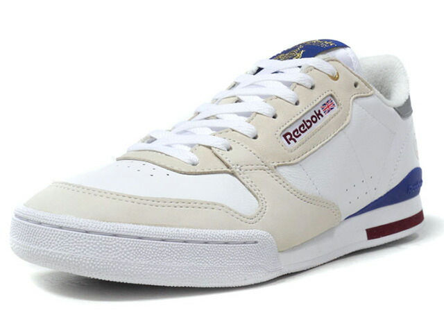 "Reebok PHASE 1 HAL X FP ""COMMON YOUTH"" ""HAL x FOOTPATROL"" ""LIMITED EDITION""  WHT/O.WHT/NVY/SLV/BGD (CN6136)"