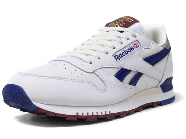 "Reebok CL LEATHER HAL X FP ""COMMON YOUTH"" ""HAL x FOOTPATROL""  WHT/O.WHT/NVY/SLV/BGD (CN6162)"