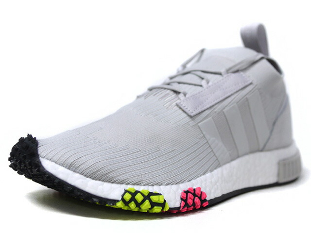 """adidas NMD RACER PK """"LIMITED EDITION""""  L.GRY/N.PNK/N.YEL/WHT (CQ2443)"""