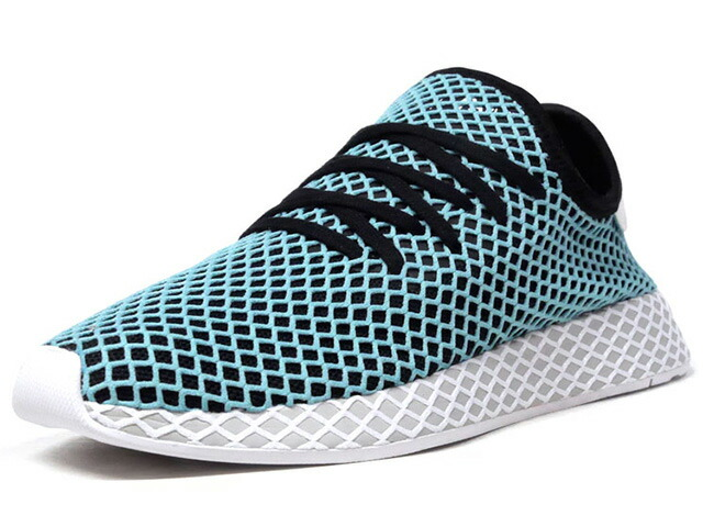 """adidas DEERUPT RUNNER PARLEY """"Parley for the Oceans""""  SAX/BLK/L.GRY/WHT (CQ2623)"""