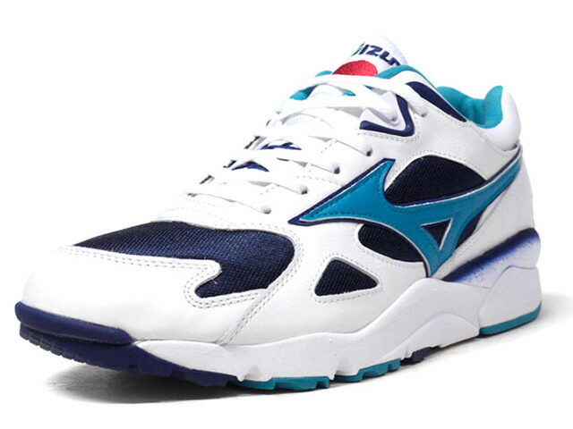 "MIZUNO SKY MEDAL BEAMS ""BEAMS"" ""LIMITED EDITION for KAZOKU"" WHT/NVY/SAX/RED (D1GD180614)"