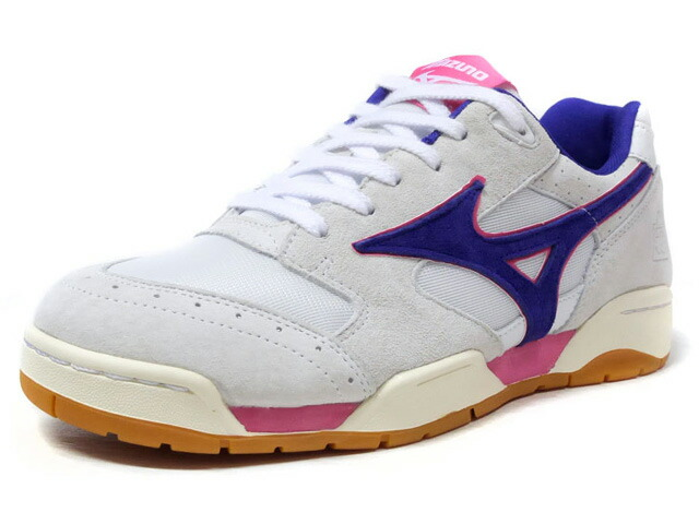 "MIZUNO COURT SELECT CLUB 75 ""CLUB 75"" ""LIMITED EDITION for KAZOKU""  WHT/PPL/PNK/GUM (D1GD182801)"