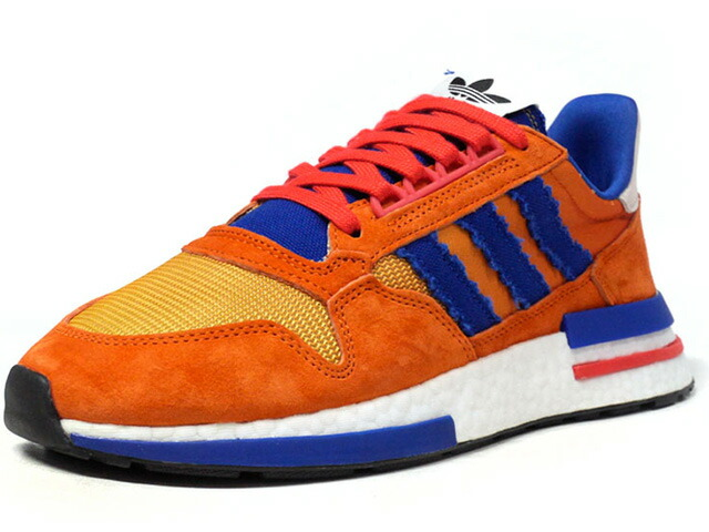 "adidas ZX 500 RM DB ""DRAGON BALL Z / 孫 悟空""  ORG/BLU/WHT (D97046)"